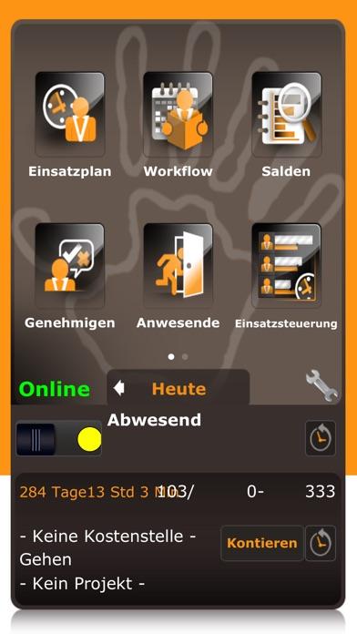 ATOSS Time Control Mobile WFMScreenshot von 1