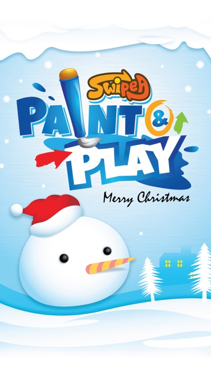 Paint & Play Christmas, Coloring Book For Kids screenshot-4