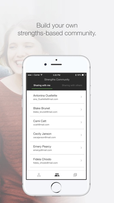 CliftonStrengths™ app image