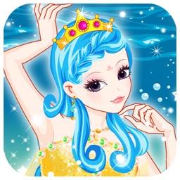Romantic mermaid -  Makeover girly games