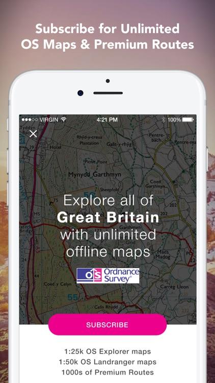 Outdoors GPS – Offline OS Maps screenshot-4