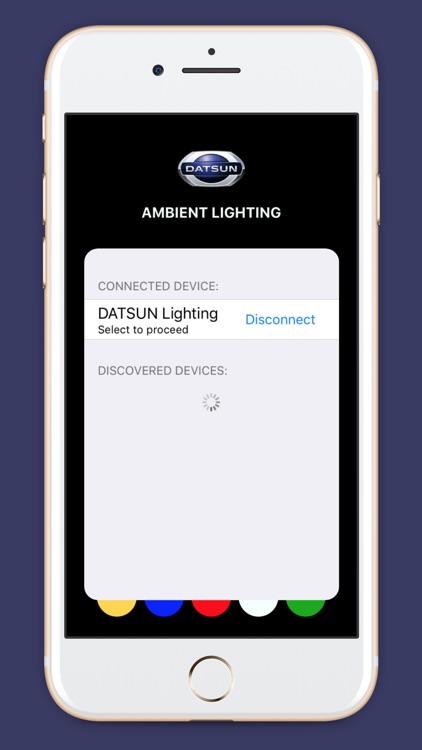 DATSUN AMBIENT LIGHTING