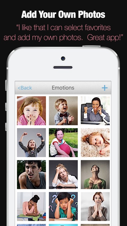ABA Flash Cards & Games - Emotions screenshot-2