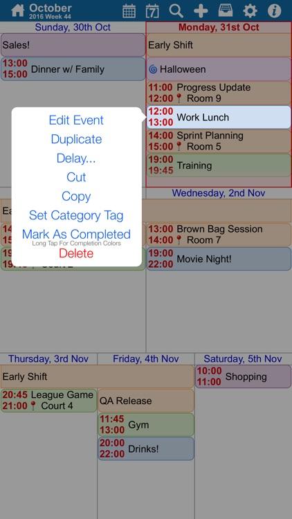 myCal 2: eventium Calendar & Event Organizer