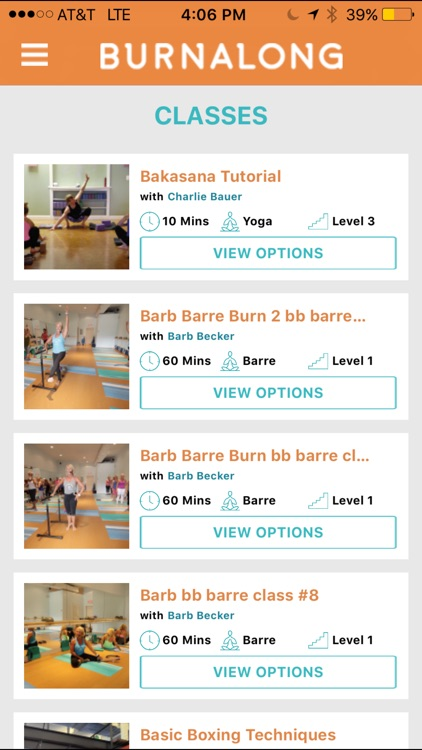 BurnAlong – Live Video Workouts, Exercise, Fitness app image