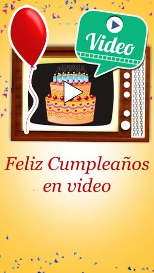76f9143015b Feliz cumpleaños en video Tarjetas de cumpleaños en App Store