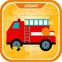 Street Vehicles Jigsaw Puzzle Games For Kids