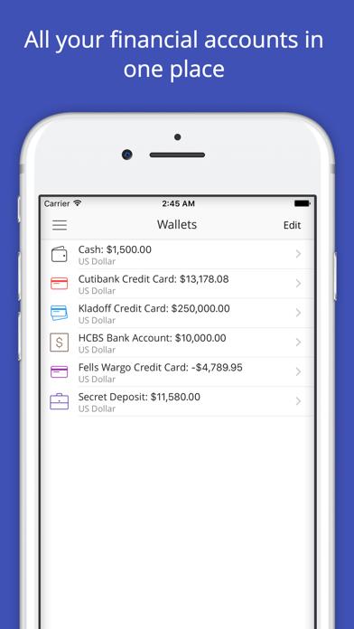 Budgeteer Smart Spending Tracker Money and Finance screenshot three