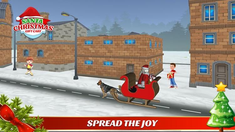 santa christmas gift cart : xmas gifts free game screenshot-4