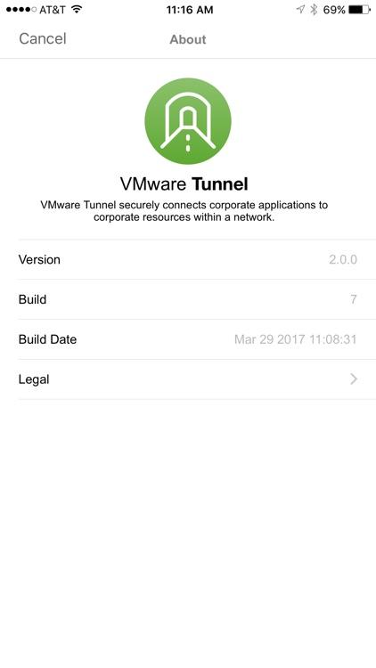 VMware Tunnel