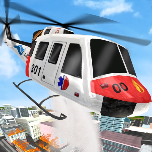 City Emergency Helicopter Simulator 2017 iOS App
