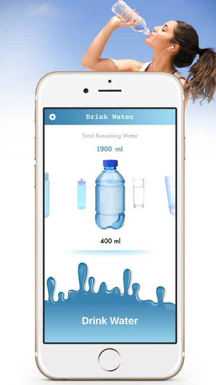 Drink Water Reminder - Daily water Drink Tracker screenshot-0