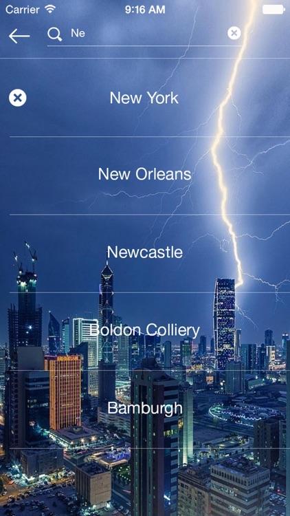 Weather radar - map weather forecast channel screenshot-4