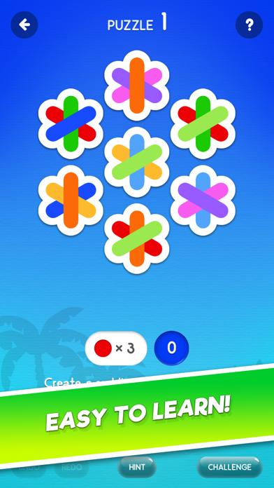 Rainbow Splash screenshot one