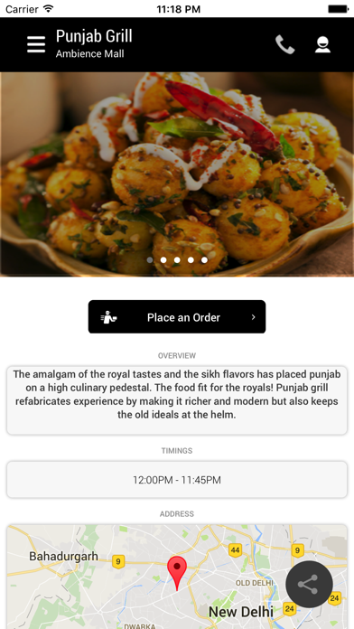Punjab Grill screenshot two
