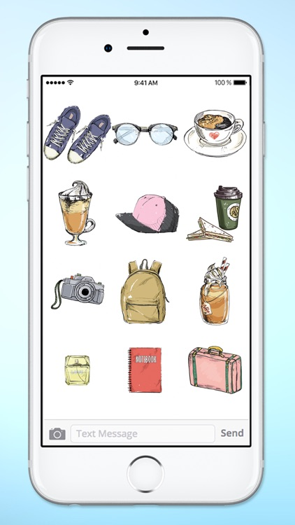 Stylish Girl Winter Fashion Sticker Pack screenshot-3