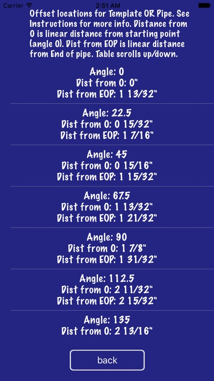 Pipe Saddle Layout Calculator: Cylinder Stanchion screenshot-1