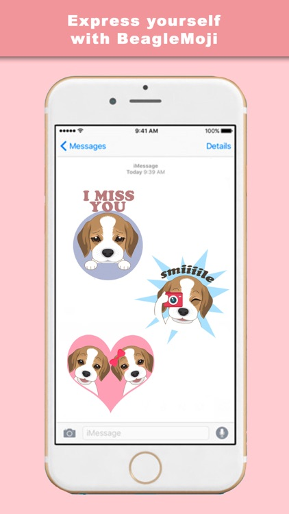 BeagleMoji - Stickers & Keyboard for Beagle Dogs screenshot-3