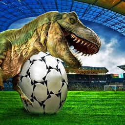 Football Penalty With Dinosaurs-A Simulation Game
