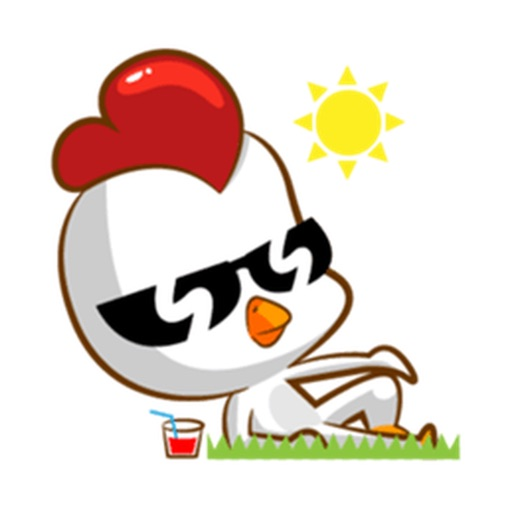 Cool Chicken Stickers