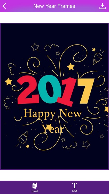 Happy New Year Greeting Cards 2017 screenshot-4