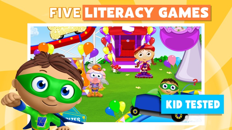 Super Why! Phonics Fair screenshot-0