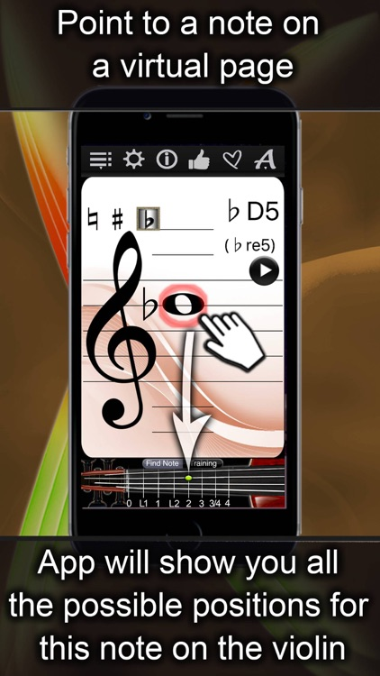 Violin Notes Finder screenshot-0