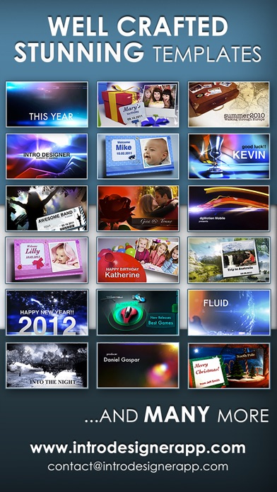 Intro designer for imovie and youtube by dgmotion mobile ios screenshots maxwellsz