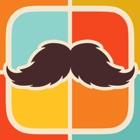 Mustache Face Facial Hair Beard & Photo FX Filter icon