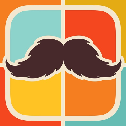 Mustache Face Facial Hair Beard & Photo FX Filter icon