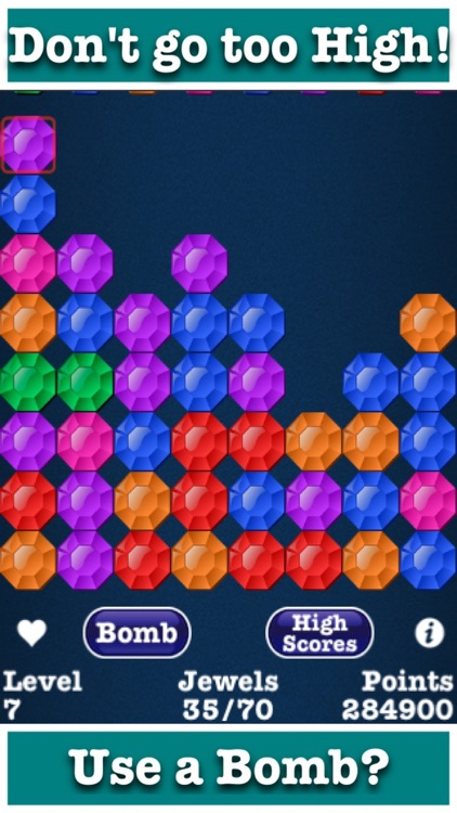 Rainbow Jewels: Connect Matching Color Dots Puzzle