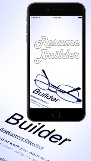 smart resume builder professional cv on the app store