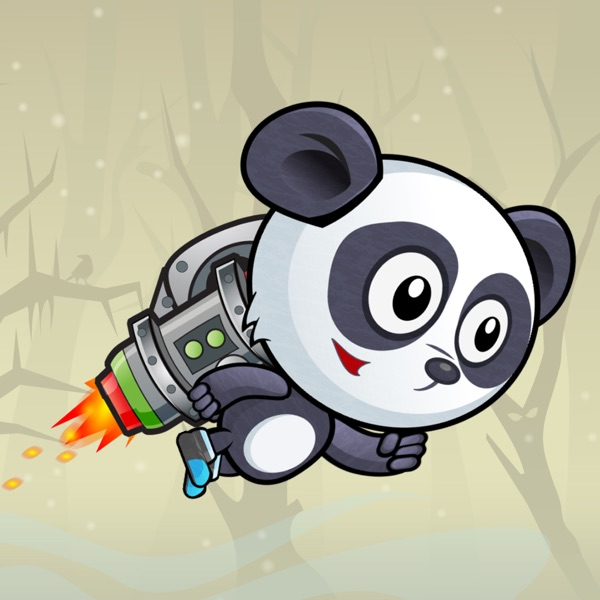 Super Flying Panda - Endless Adventure