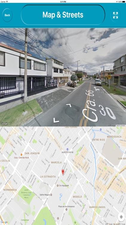 Bogota colombia Offline Map Navigation GUIDE screenshot-3