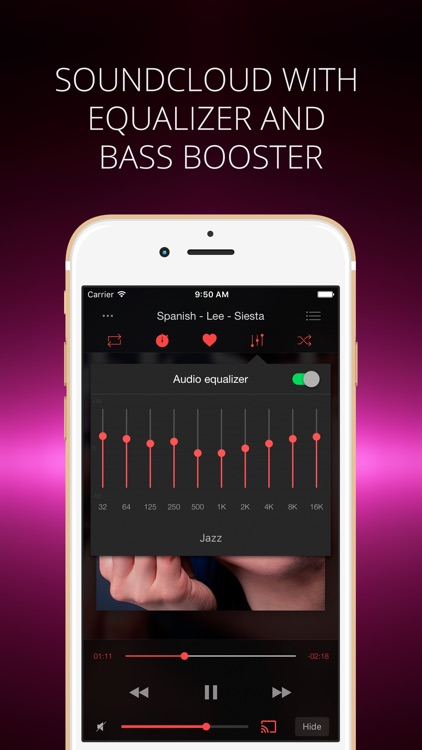Soundy - Music Player & Equalizer for SoundCloud