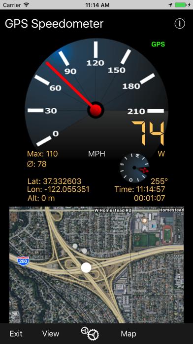Gps Speedometer review screenshots