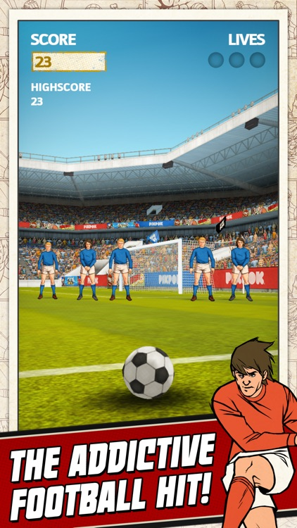 Flick Kick Football Kickoff screenshot-0
