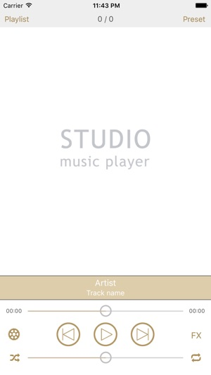 Studio Music Player DX Screenshot