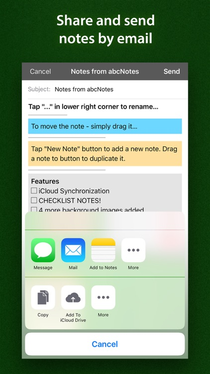 abc Notes - ToDo, Checklist & Sticky Note screenshot-4