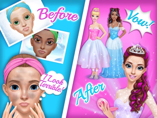 Princess Gloria Makeup Salon - No Ads для iPad