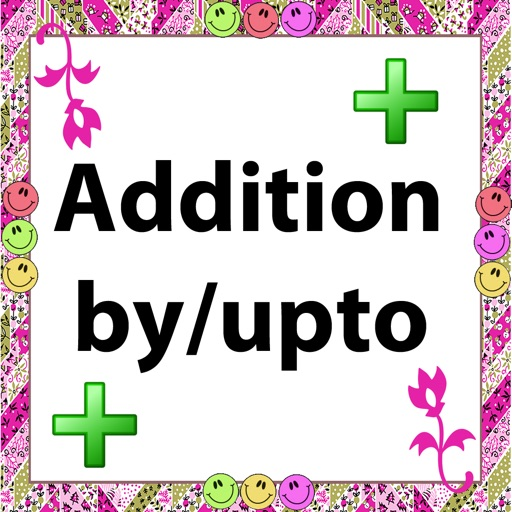 Addition by/upto icon