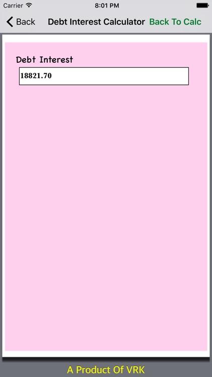 Financial Calculator Collections screenshot-3