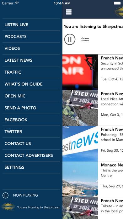 Riviera Radio News