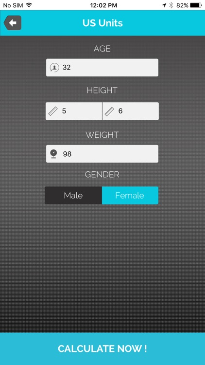 BMI Calculator - (Body Mass Index)