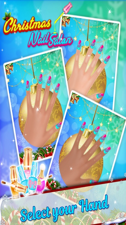 Christmas Nail Salon - Girls game for Xmas screenshot-1