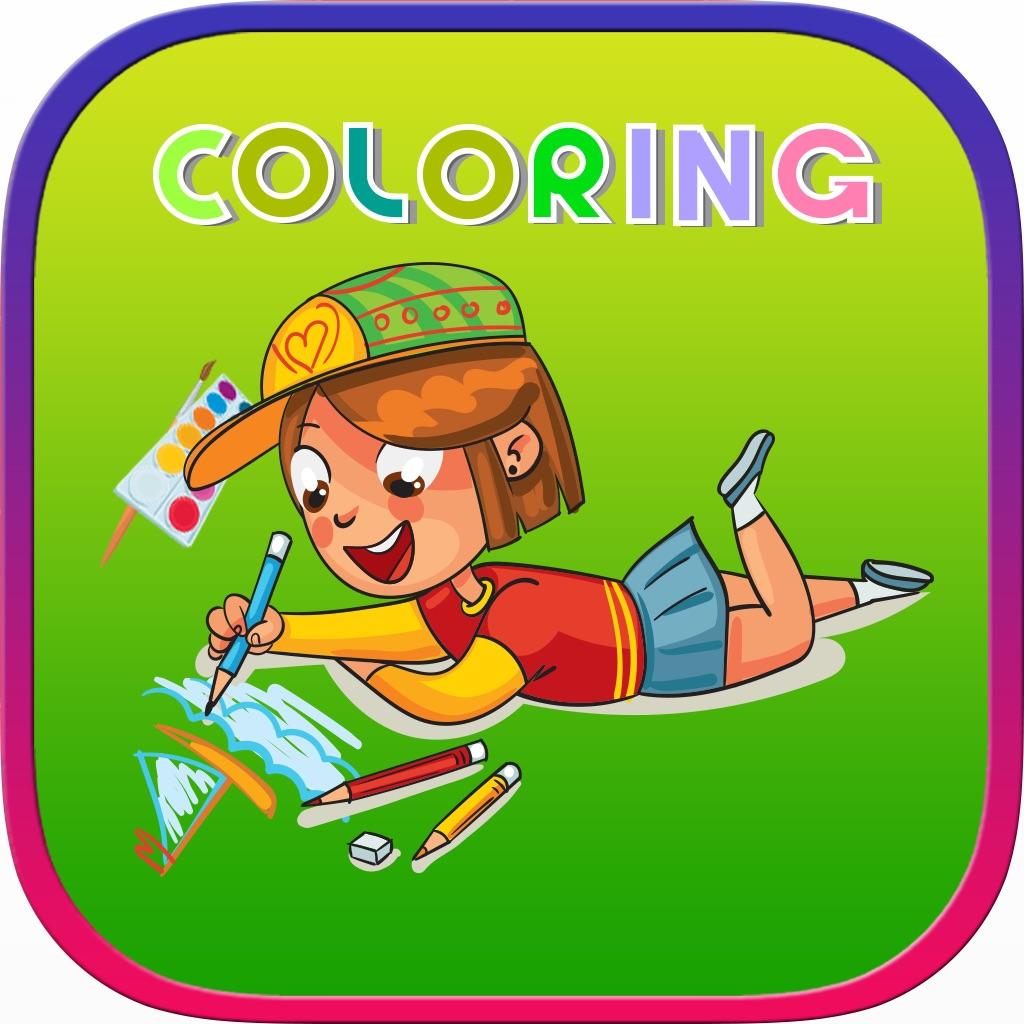 Animals Pony Dinosaurs Princess Coloring Games hack
