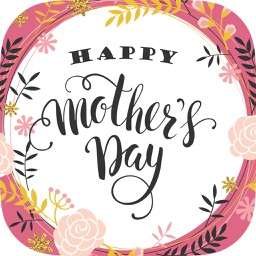 Mother's day greeting cards & stickers