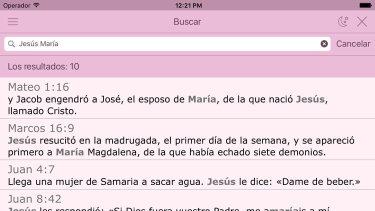 Biblia Católica para la Mujer en Español con Audio screenshot-3