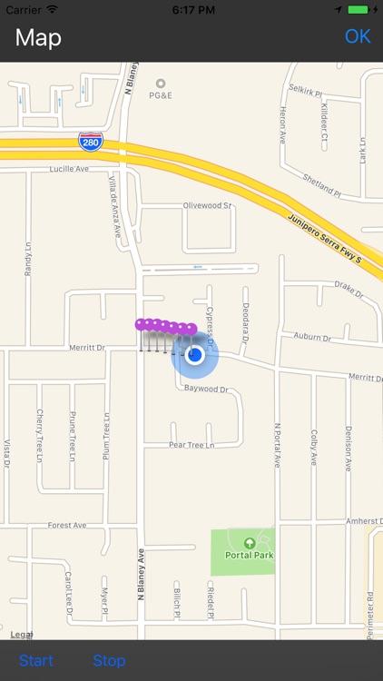 GPS Cyclometer screenshot-4
