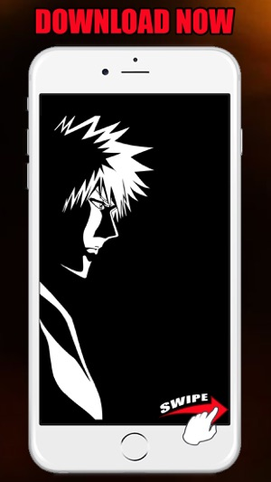 Anime Wallpapers HD for Bleach Background Sticker on the App Store